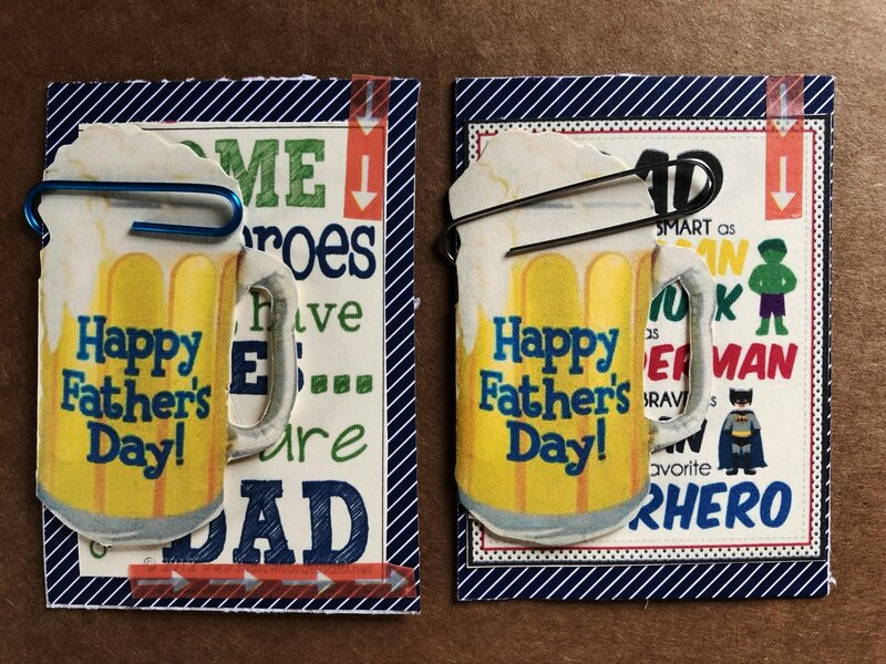 FATHER'S DAY ATCs!!!