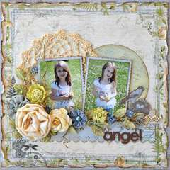 Angel ~My Creative Sketches / Prima Contest~