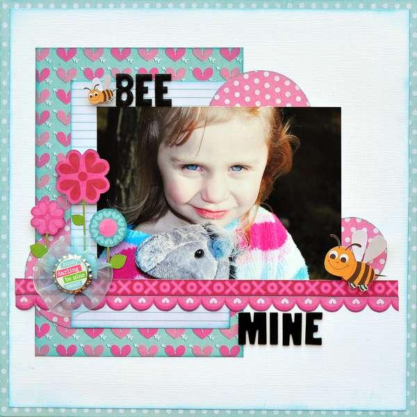 Bee Mine ~My Creative Scrapbook~