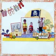 Crazy Splash Captain ~My Creative Scrapbook~