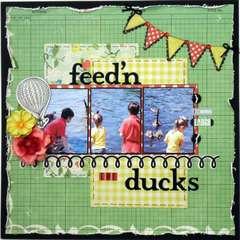 Feed'n the Ducks ~My Creative Scrapbook~