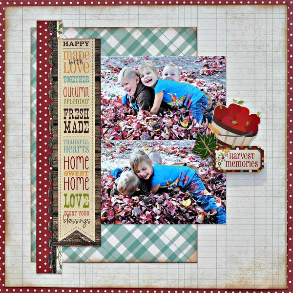 Harvest Memories ~My Creative Scrapbook~
