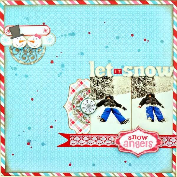 Let it Snow ~My Creative Scrapbook~