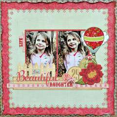 Our Beautiful Daughter ~My Creative Scrapbook~