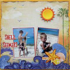 Shell Seekers ~My Creative Scrapbook~