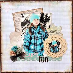 Snow Fun ~My Creative Scrapbook~