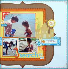 The Search is on ~My Creative Scrapbook~