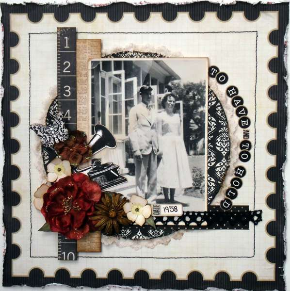 To Have and to Hold ~My Creative Scrapbook~