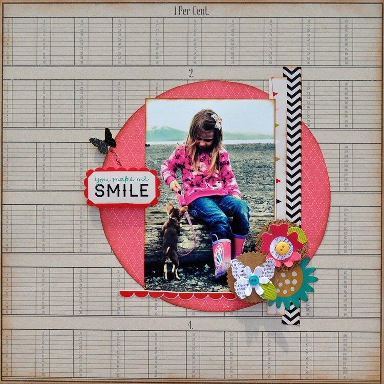 You Make Me Smile ~My Creative Scrapbook~
