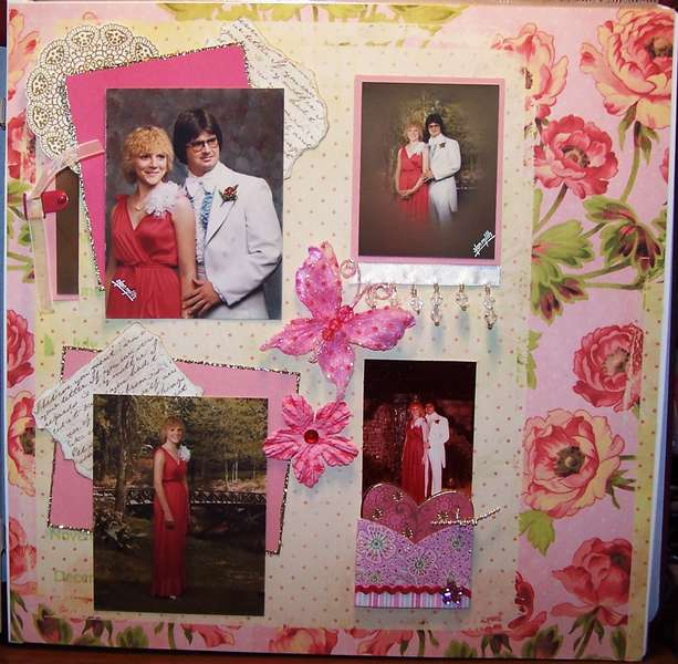 PINK CHALLENGE LAYOUT - PROM NIGHT
