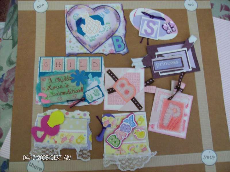 Handmade Tags great for scrapbooking, card making, or use as gift tags