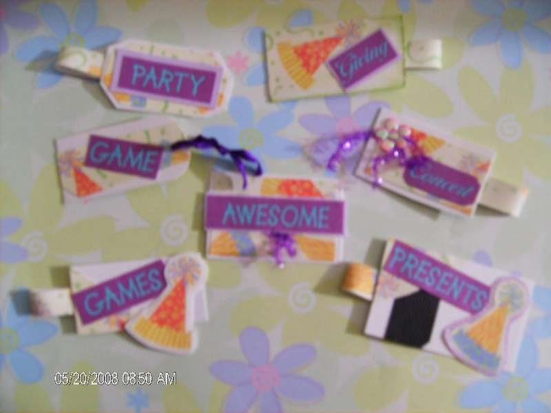 Party Handmade Tags