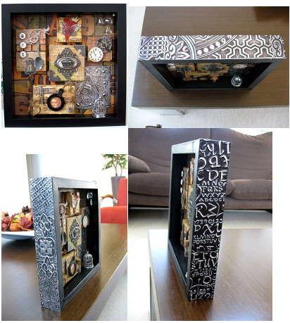 Art Shadow Box - Details