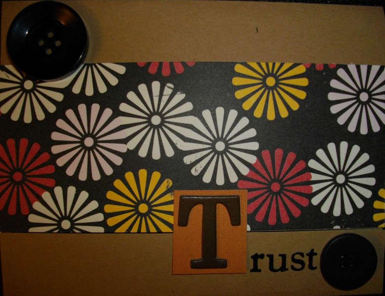 Trust Blank Card