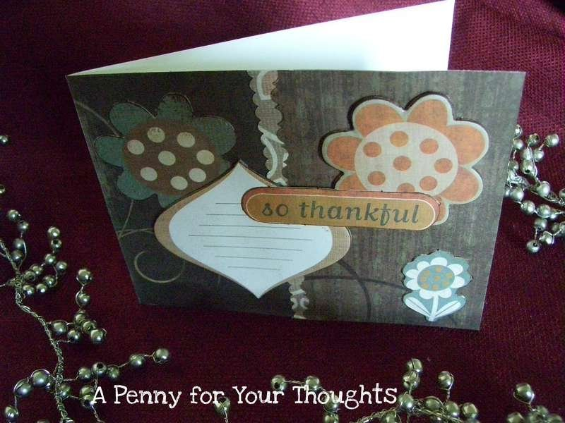 Fall Themed Thank You
