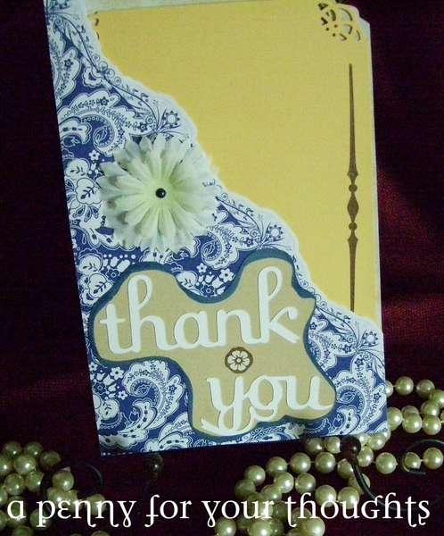Thank You Pocket Card