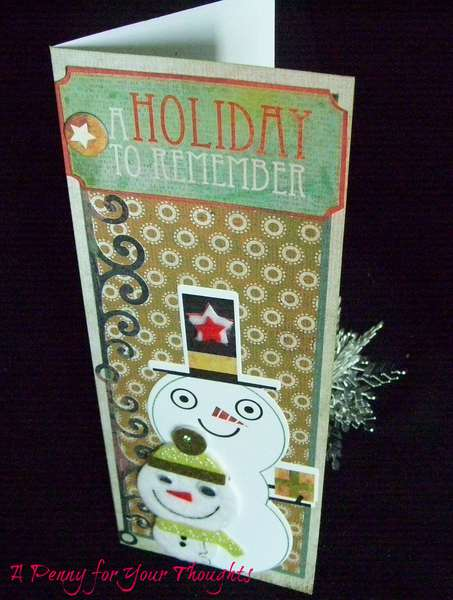 HOLIDAY TO REMEMBER CHRISTMAS CARD