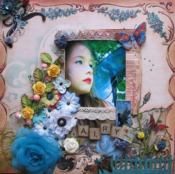 Fairy **Swirlydoos Retro Tapestry**