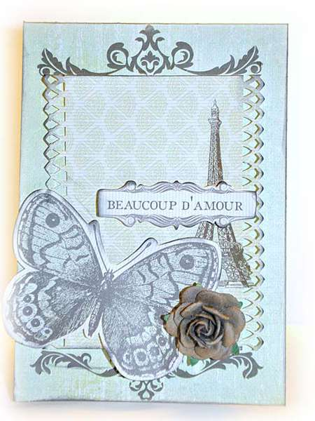 Beaucoup D'Amour Card
