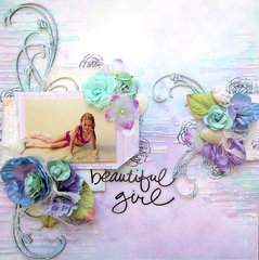 Blue Fern Studios- Beautiful Girl