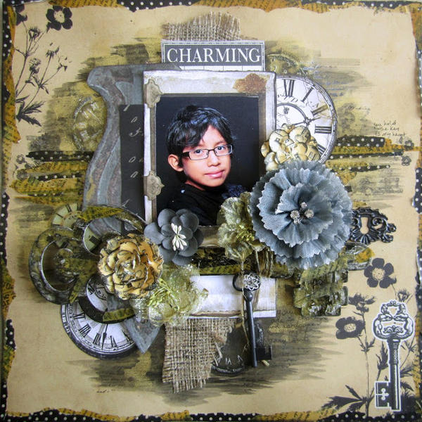 Charming- Scrap for Help DT