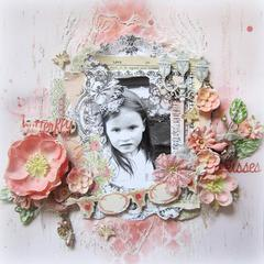 Butterfly Kisses- DT Scrap for Help