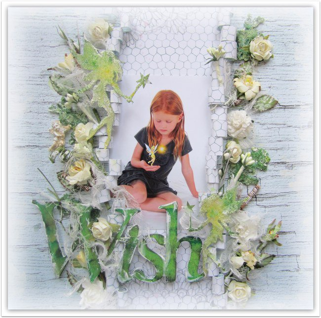 Wish- DT work for 13 Arts and 2 Crafty