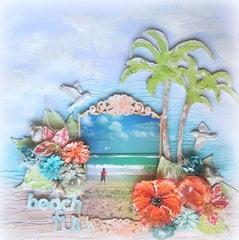 Beach Fun- 2 Crafty DT
