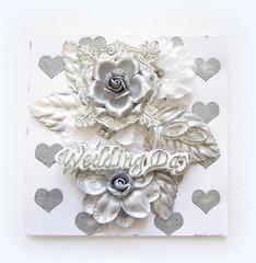 Wedding Day- Prima Card