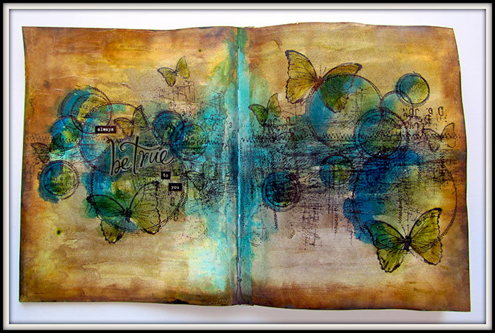 Be True to you- Art Journal