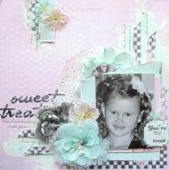 Sweet Treat- Scraps of Elegance August Kit
