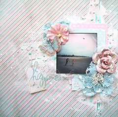 Happiness is- Scraps of Elegance August Kit