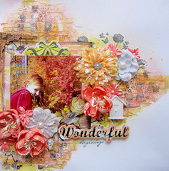 Wonderful Beginnings- Prima ArtZine