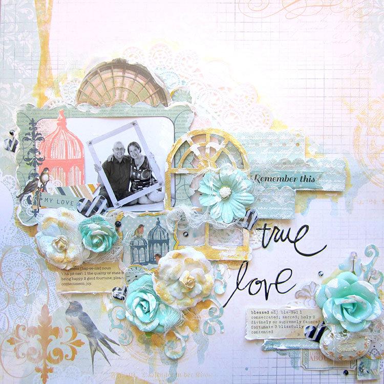 True Love- Scraps of Elegance October Kit