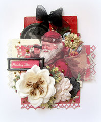 Holiday Blessings- Prima DT