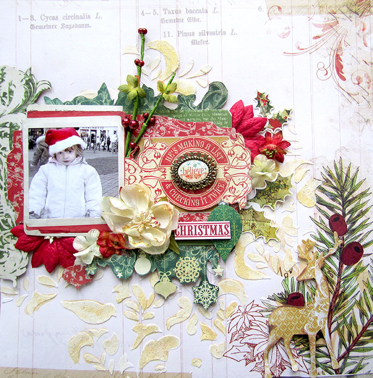 Believe- Scraps of Elegance December Kit