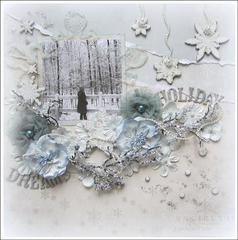 Holiday Dreams-Ces't Magnifique December Kit