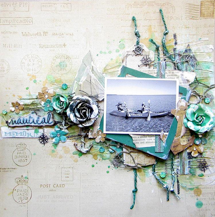 Nautical Memories- Flying Unicorn Ustream layout