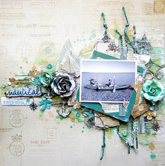 Nautical Memories- Flying Unicorn Ustream layout