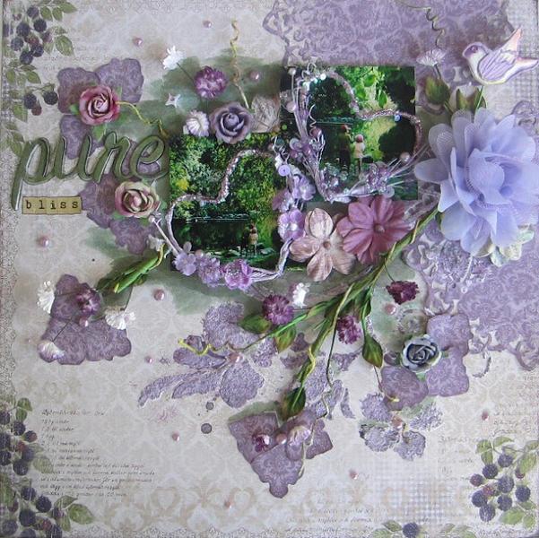 Pure bliss- C'est Magnifique February Kit
