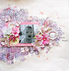 Our Baby Girl- Flying Unicorn August kit with Video