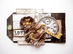 Love- Tag- August Prima Special Delivery kit