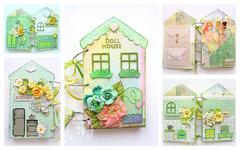Doll House Mini-Album- Julie Nutting by Prima