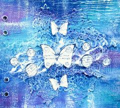 Art Journal with Impasto Paints