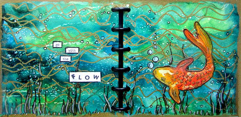 Art Journal- Koi Fish