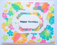 Handmade Birthday Card for World Cardmaking Day