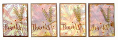 Thank you cards with Distress Oxide Inks and Concord and 9th