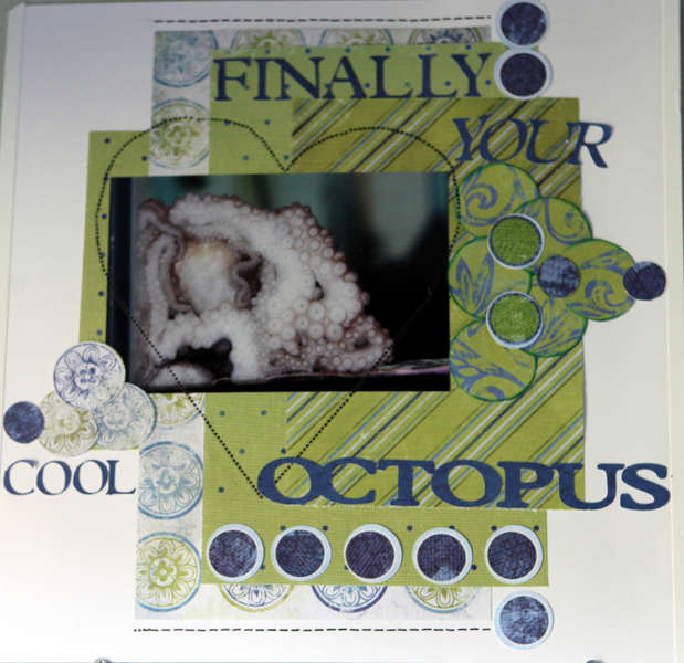 Finally your cool octopus