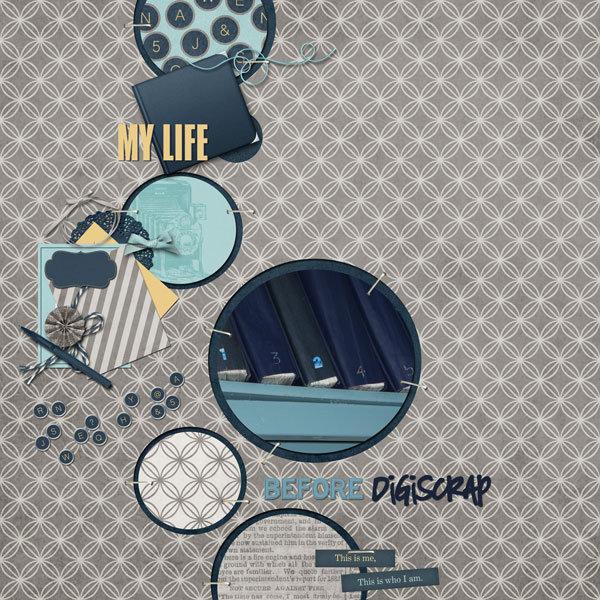 Life before digiscrap