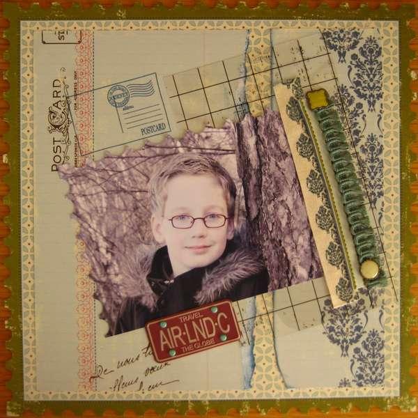 Postcard Germain